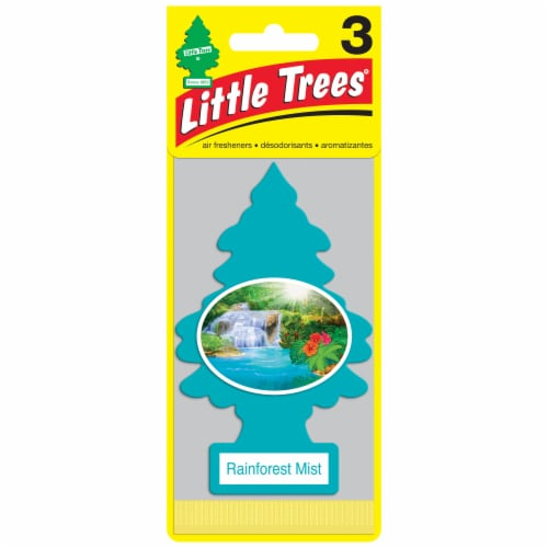 Little Trees Rainforest Mist Car Air Fresheners Perspective: front