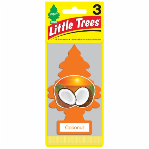Little Trees Coconut Car Air Fresheners Perspective: front