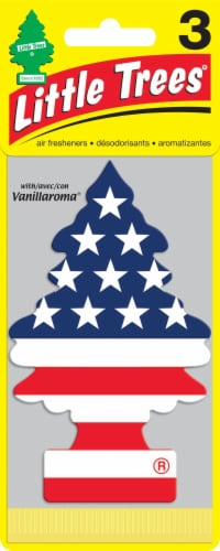 Little Trees America Car Air Fresheners Perspective: front