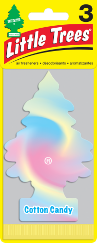 Little Trees Cotton Candy Air Freshener Perspective: front