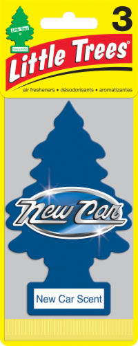 Little Trees New Car Scent Air Fresheners - Blue Perspective: front