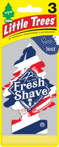 Little Trees Fresh Shave Air Fresheners Perspective: front