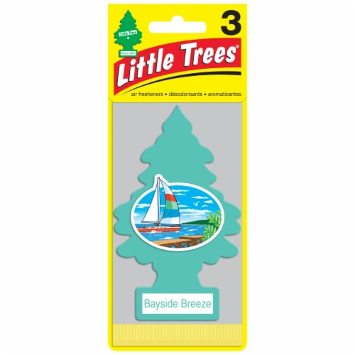 Little Trees Bayside Breeze Car Air Fresheners Perspective: front