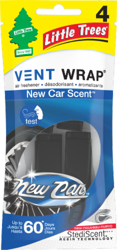 Little Trees Vent Wrap New Car Smell Car Freshener Perspective: front