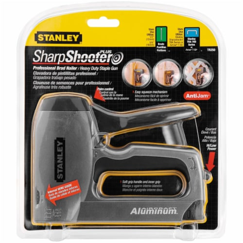 Stanley® SharpShooter Plus Professional Brad Nailer & Staple Gun Perspective: front