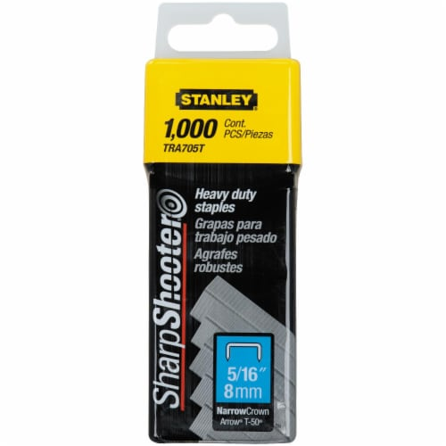 Stanley® SharpShooter 5/16-Inch Heavy Duty Staples Perspective: front