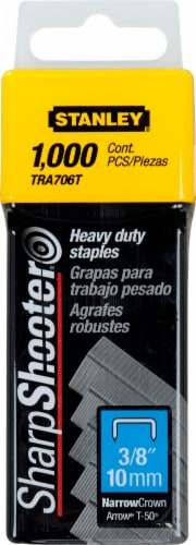 Stanley® SharpShooter 3/8-Inch Heavy Duty Staples Perspective: front