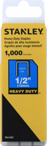 Stanley® SharpShooter® Narrow Crown Heavy-Duty Staples Perspective: front