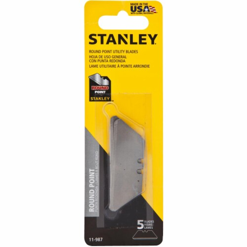 Stanley® Round Point Utility Blades Perspective: front