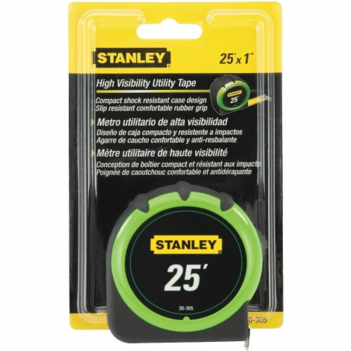 Stanley® Hi-Visibility™ 25-Foot Tape Measure Perspective: front