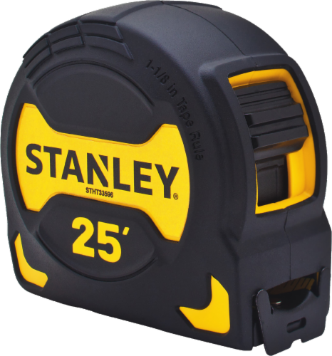 Stanley® Tape Measure - Black/Yellow Perspective: front