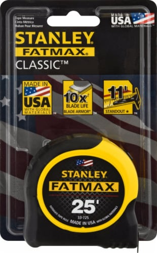 Stanley FATMAX Tape Measure Perspective: front