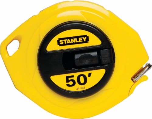 Stanley® Steel Long Tape - Yellow Perspective: front
