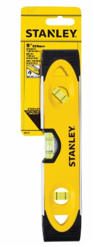 Stanley® Magnetic Shock Resistant Torpedo Level Perspective: front