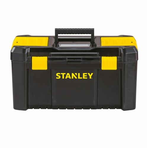 Stanley® Essentials Toolbox - Black/Yellow Perspective: front