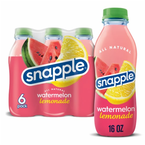 Snapple Watermelon Lemonade Perspective: front