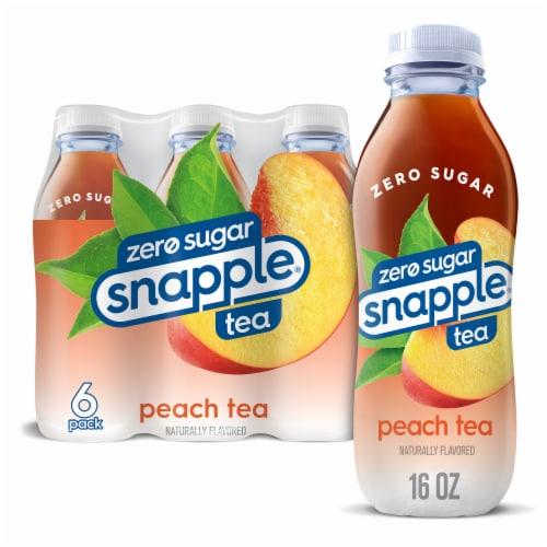 Snapple Diet Peach Tea Perspective: front