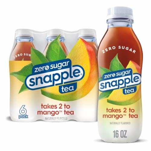 Snapple Diet Mango Tea Perspective: front
