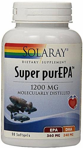 Solaray  Super purEPA™ Perspective: front