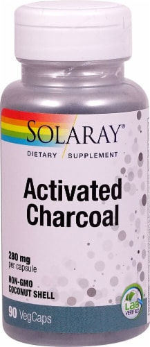 Solaray  Activated Charcoal Perspective: front