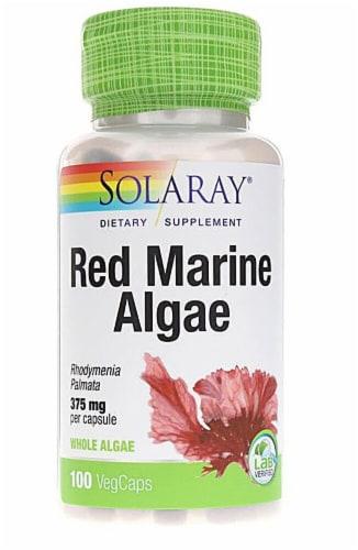 Solaray  Red Marine Algae Perspective: front