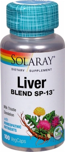 Solaray  Liver Blend SP-13™ Perspective: front