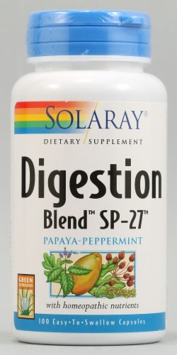 Solaray  Digestion Blend™ SP-27™ Perspective: front