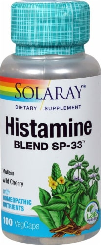 Solaray  Histamine Blend™ SP-33™ Perspective: front