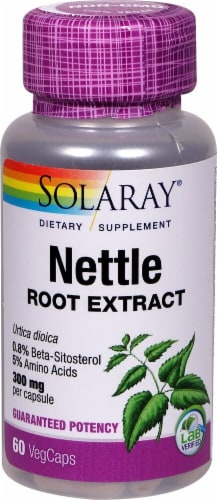 Solaray Nettle Root Extract Vegetarian Capsules 300mg Perspective: front