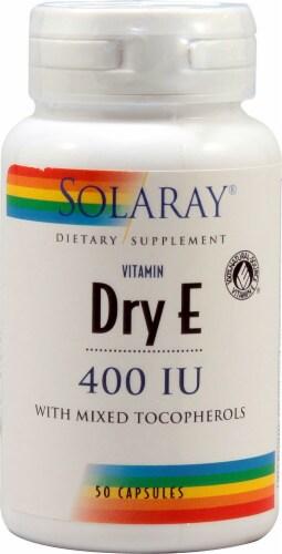Solaray  Dry Vitamin E Perspective: front