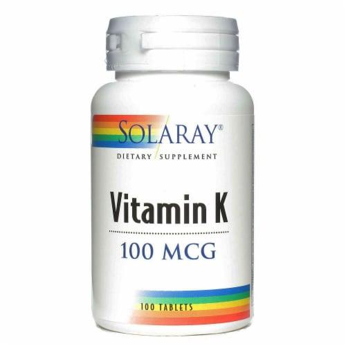 Solaray  Vitamin K Perspective: front