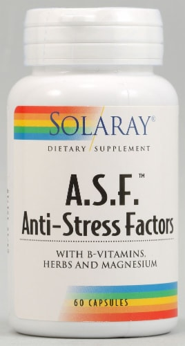 Solaray  A.S.F.™ Anti-Stress Factors Perspective: front