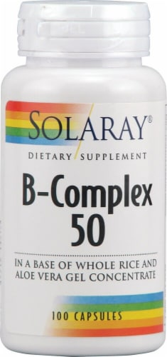 Solaray  B-Complex 50 Perspective: front