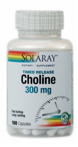 Solaray  Choline Perspective: front