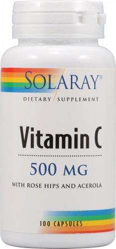 Solaray  Vitamin C Perspective: front
