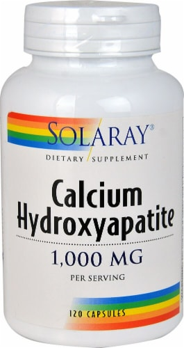 Solaray  Calcium Hydroxyapatite Perspective: front