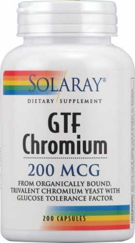 Solaray  GTF Chromium Perspective: front
