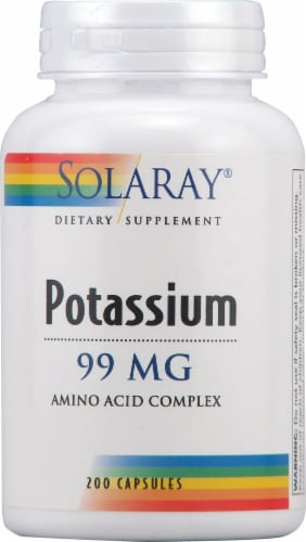 Solaray  Potassium Perspective: front