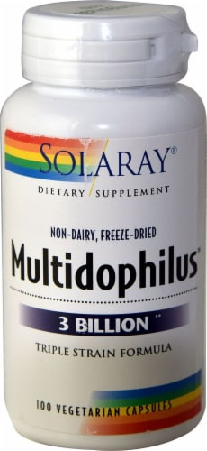 Solaray  Multidophilus™ Perspective: front