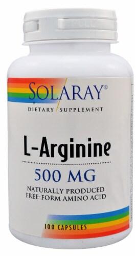 Solaray  L-Arginine Perspective: front