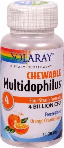 Solaray  Multidophilus™ 4   Orange Cream Perspective: front