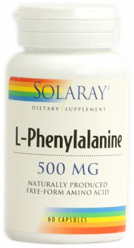 Solaray  L-Phenylalanine Perspective: front