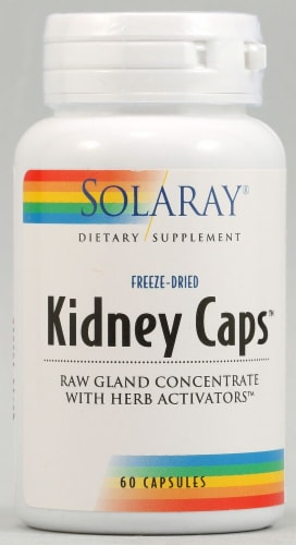 Solaray Kidney Caps Capsules Perspective: front