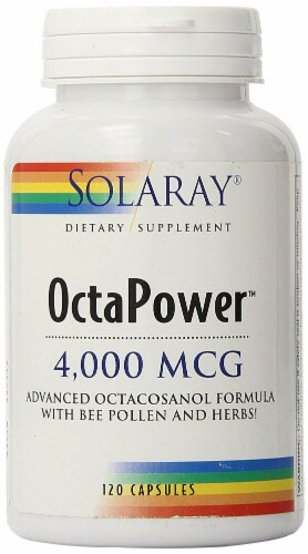 Solaray OctaPower Capsules 4000 mcg Perspective: front