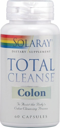 Solaray  Total Cleanse™ Colon Perspective: front