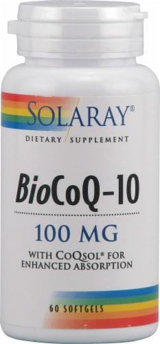 Solaray  BioCoQ-10 Perspective: front