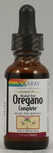 Solaray Oregano Complete Extract 68 mg Perspective: front