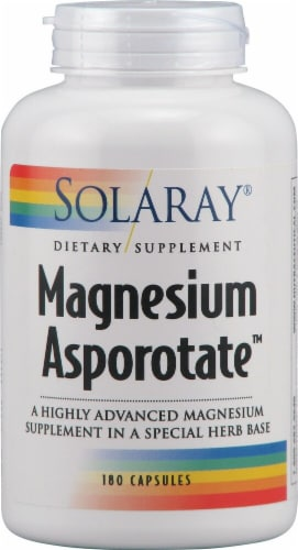 Solaray  Magnesium Asporotate™ Perspective: front