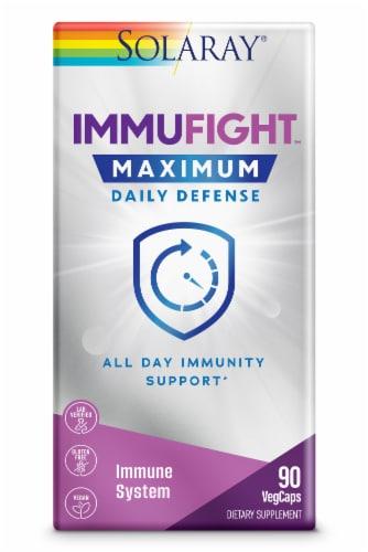 Solaray ImmuFight Maximum Daily Defense Perspective: front