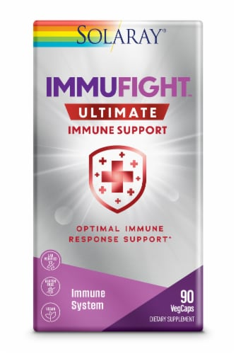 Solaray ImmuFight Ultimate Immune Support Perspective: front